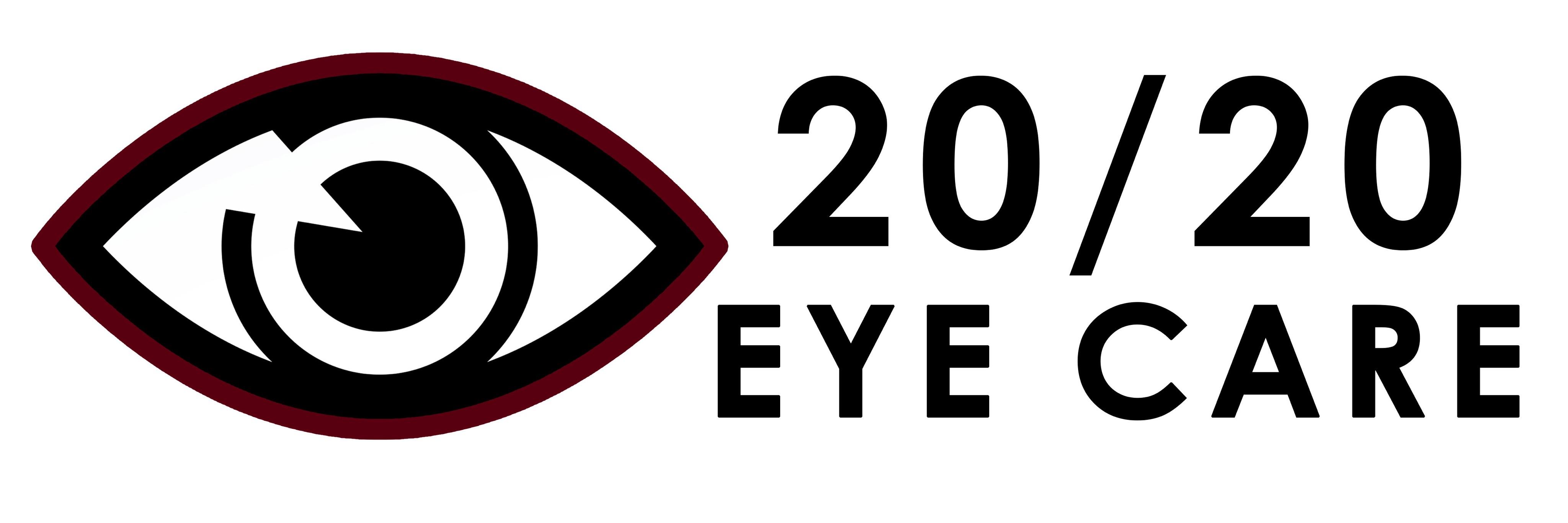 20/20 Eye Care Logo