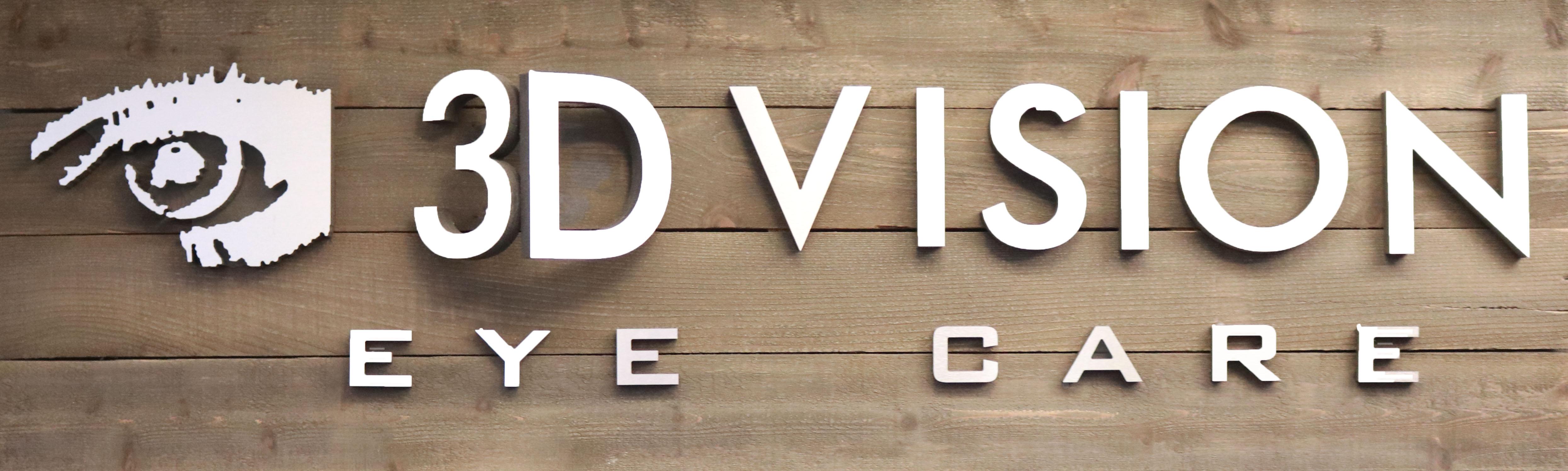 3D Vision Eye Care Logo