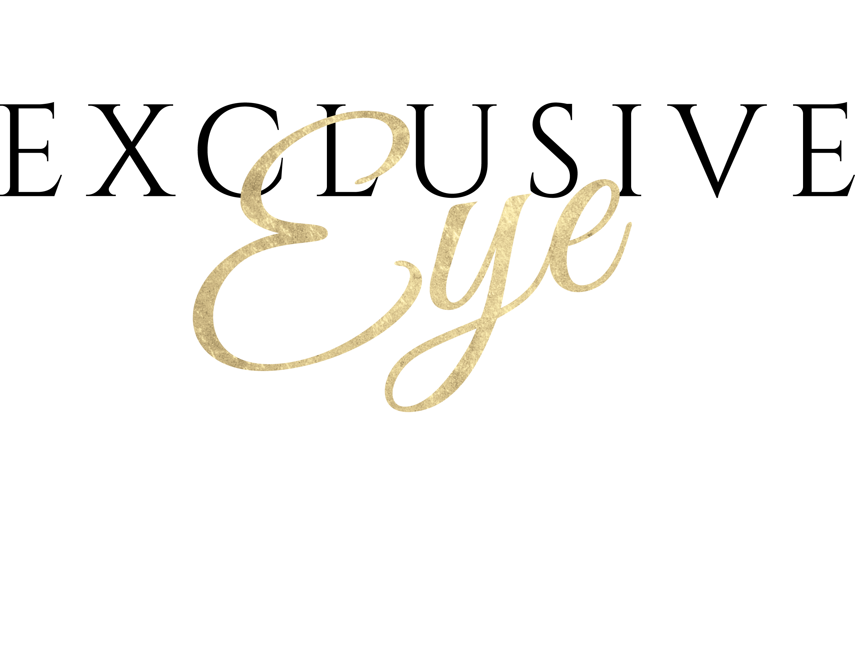 The Exclusive Eye Logo