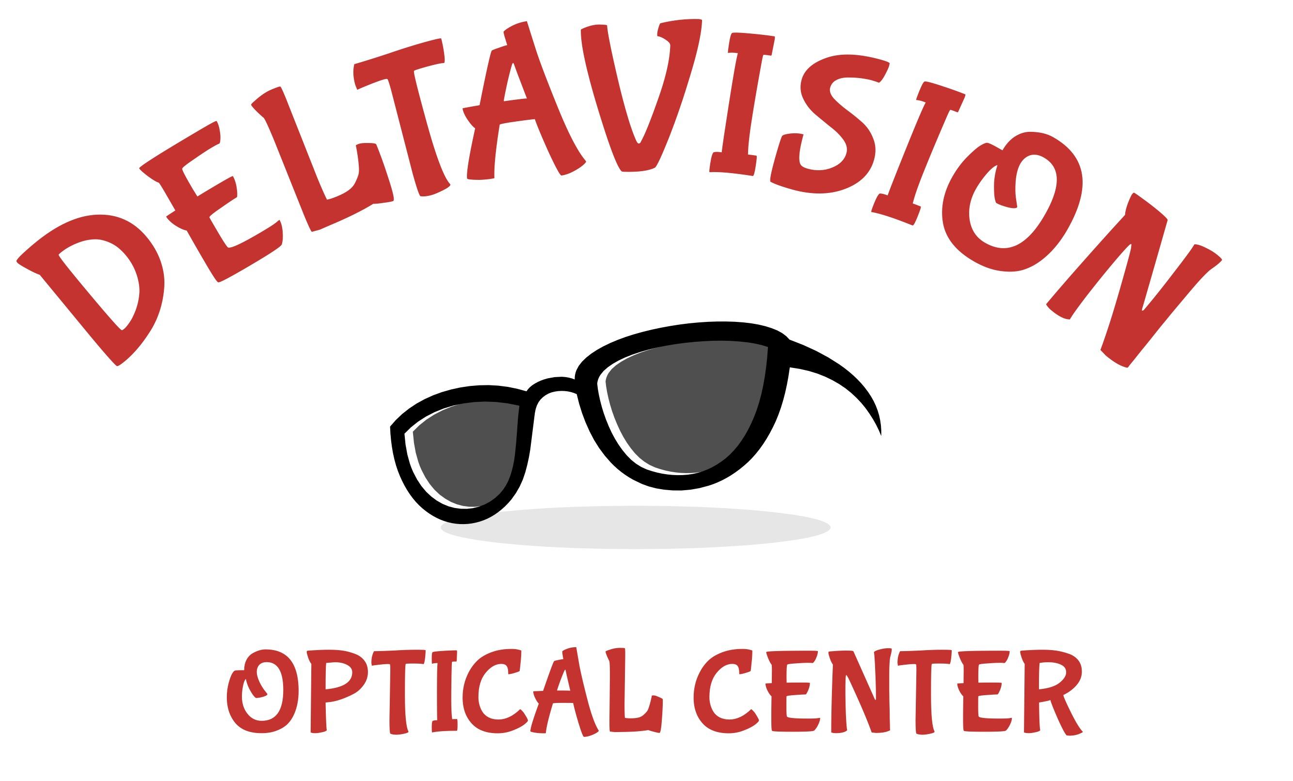 Delta Vision Optical Center Logo