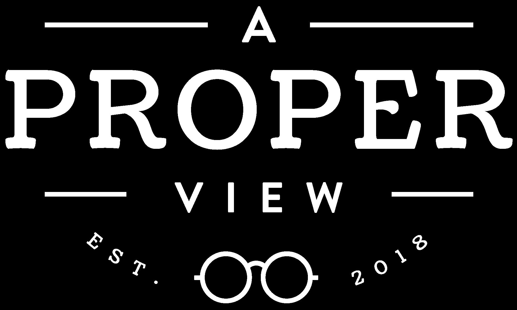 A Proper View Logo