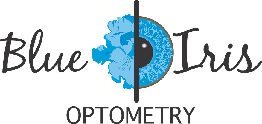 Blue Iris Optometry Logo